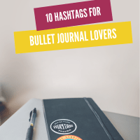 10 Bullet Journal hashtags for Bullet Journal lovers