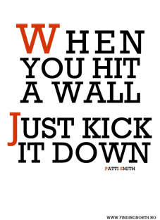Kick the door down printable
