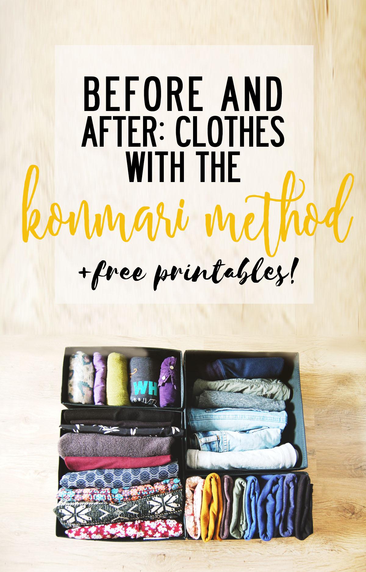 The Konmari Method Clothes