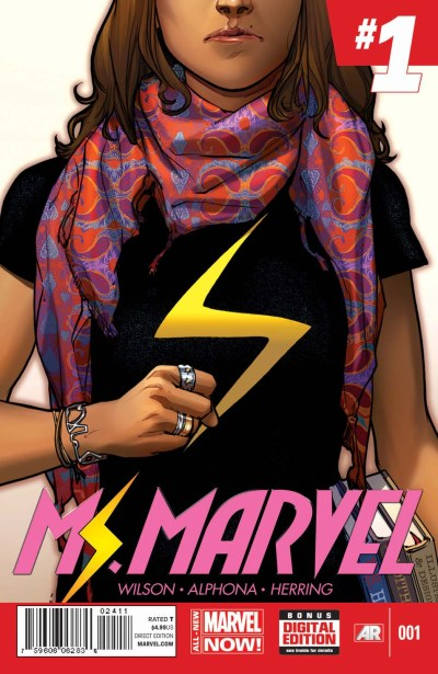 Read something new with 25 books in 8 different genres - Ms Marvel