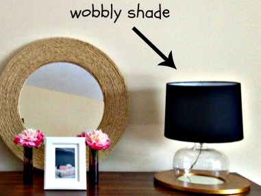 wobbly shade