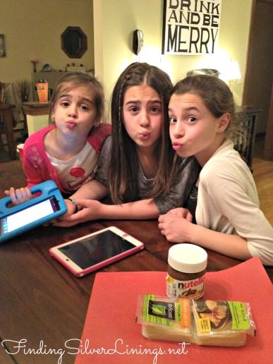 nutella stuffed fried ravioli...girls night