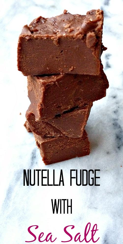 Best Nutella Fudge Recipe. So Easy