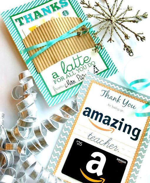 free teacher gift printables