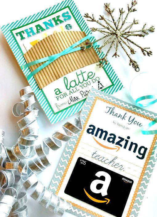 free teacher gift printables
