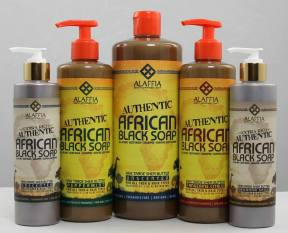 African Black Soap new pkging