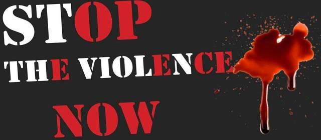 A Prayer Against Violence