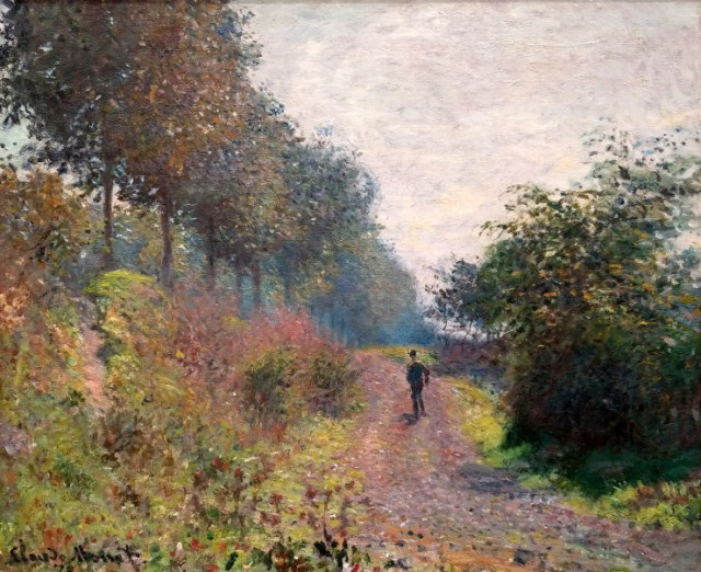 Claude Monet The Sheltered Path
