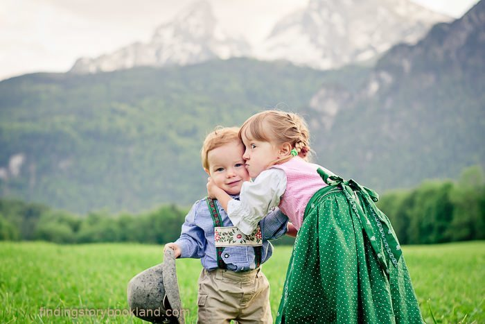 Sound of Music Themed Children's Photo Shoot