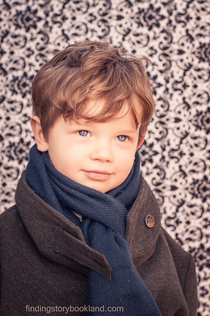 benedict cumberbatch sherlock holmes themed children's stylized photo shoot