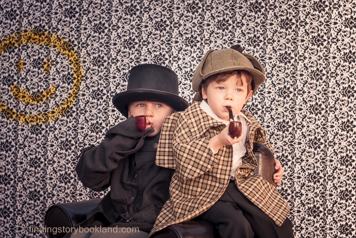 A basic guide on how to do a regency style Sherlock Holmes themed children's photo shoot with costume, prop and location ideas and tutorials.