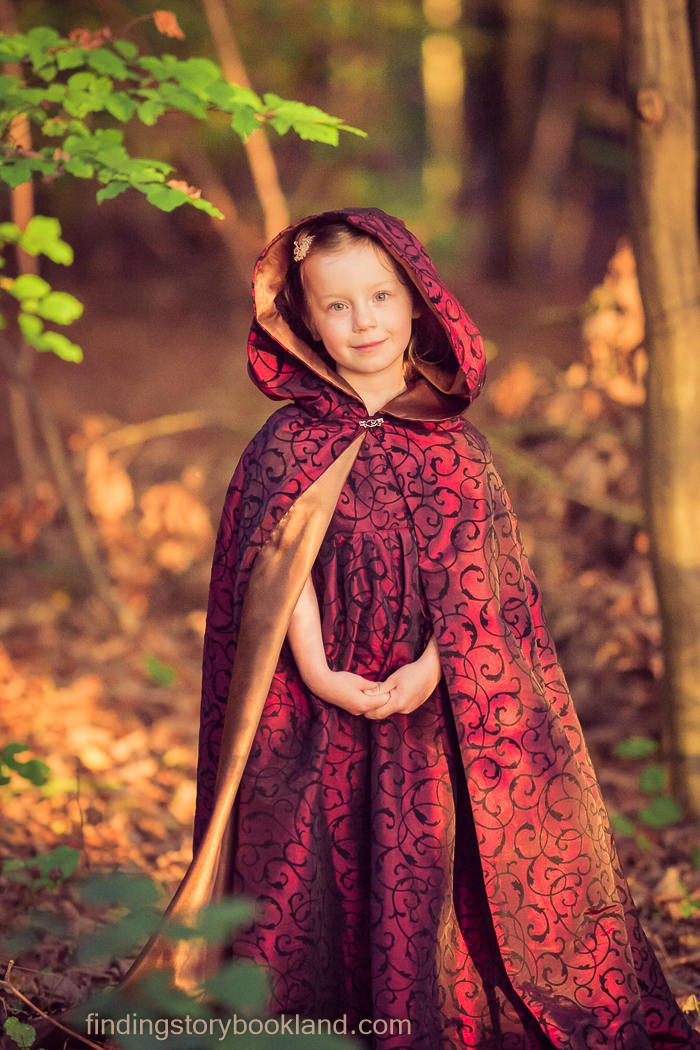DIY Hooded Cloak