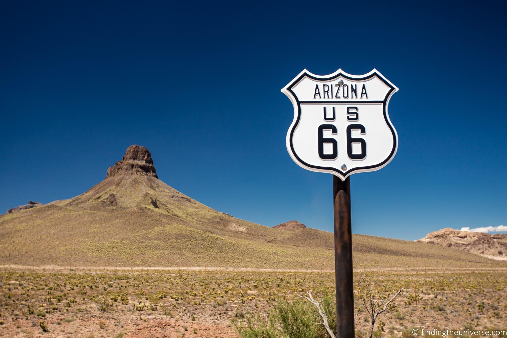 Route 66 Sign Arizona