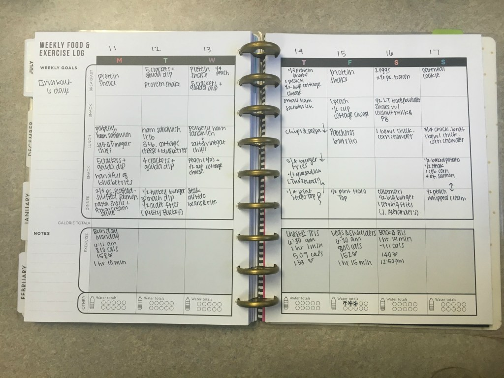 MAMBI Happy Planner Review - Finding the Wardrobe