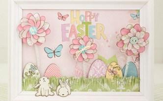 Hoppy Easter Framed Art