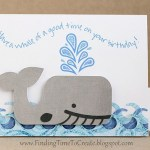 Sliding Whale Card