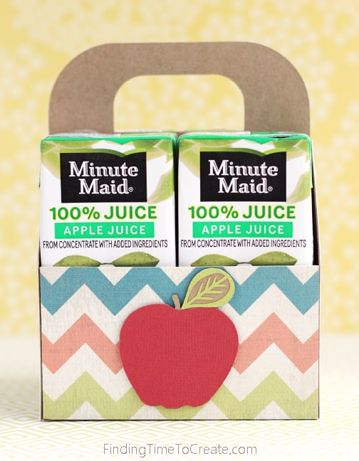 Juice Box Gift Tote Tutorial and Free Cut File