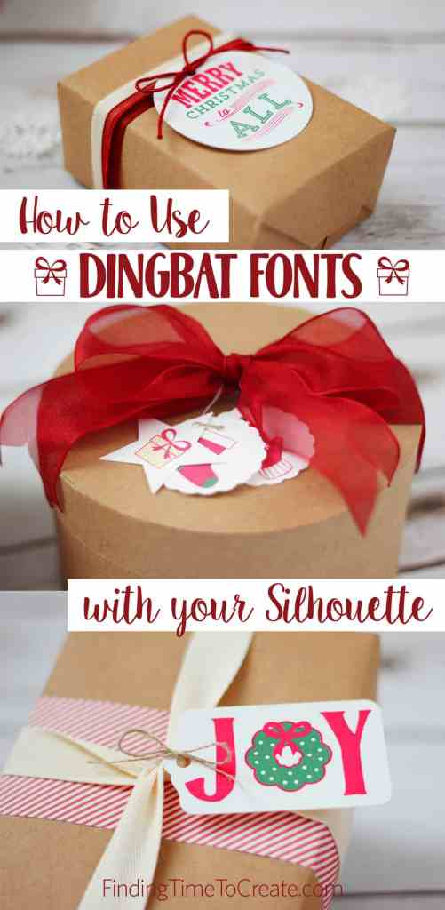 What Can You Do With Dingbat Fonts and your Silhouette Machine?