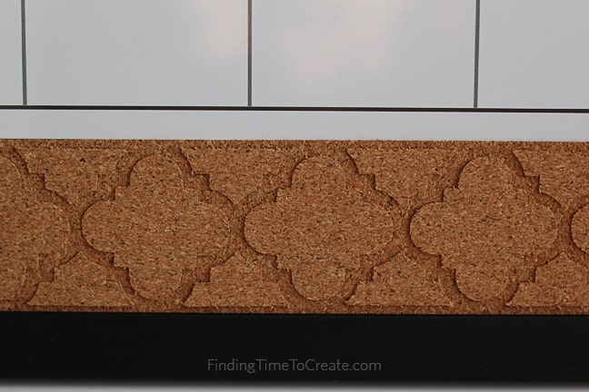Embellished Cork Trim - Finding Time To Create - Silhouette Cork Sheets