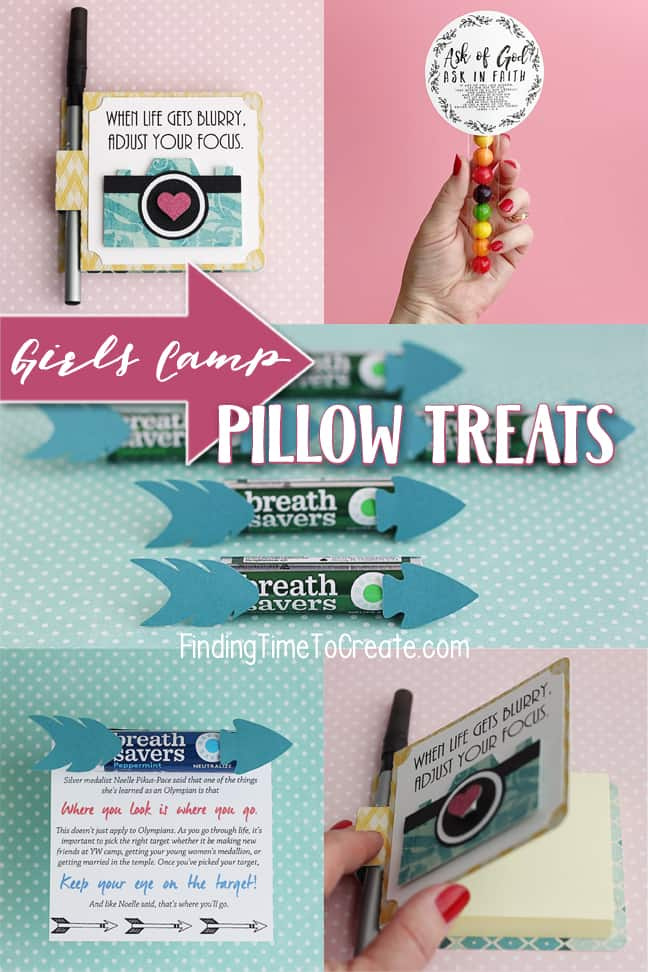Girls Camp Pillow Treats - Finding Time To Create