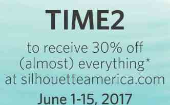 June 2017 Elite Sale on Silhouette Products