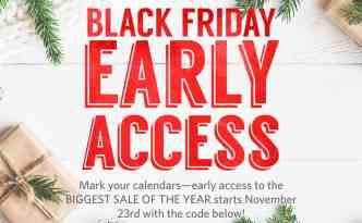 Black Friday Early Access TIME2