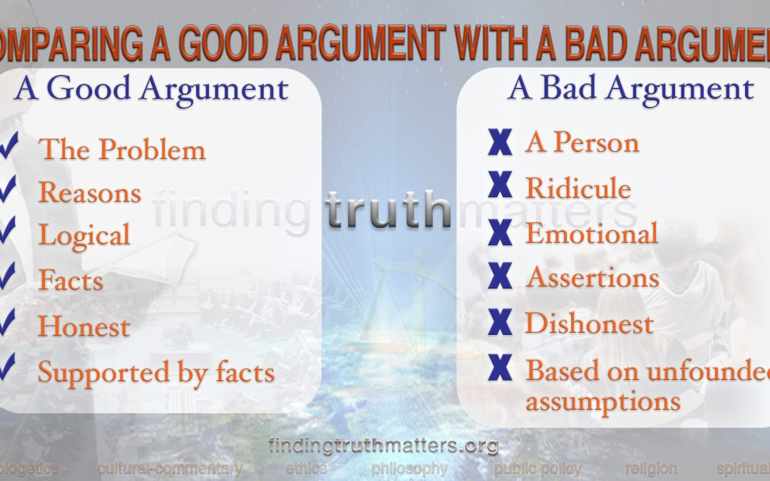 The Seven Principles For Making A Strong Argument