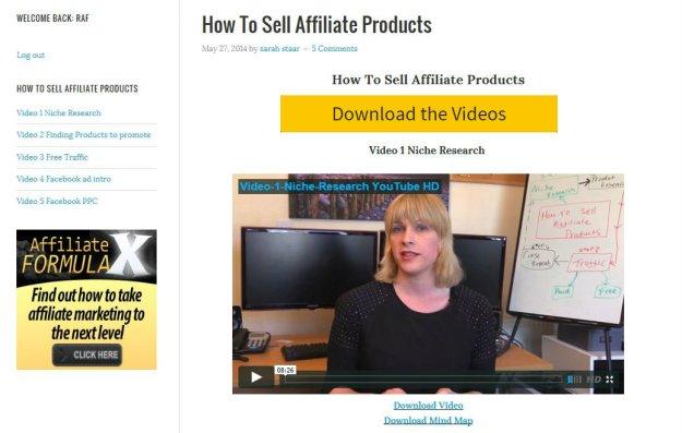 Kết quả hình ảnh cho affiliate marketing video series