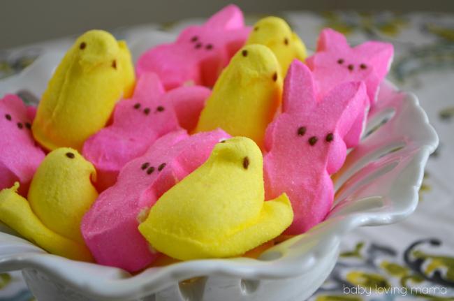 PEEPS marshmallow chicks and bunnies