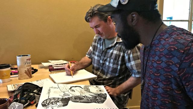 Jxn Drawing Club Inspires, Encourages Local Artists