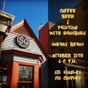 Coffee, Beer and Painting with Ransburg