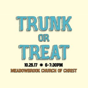 Trunk or Treat | Meadowbrook Church of Christ