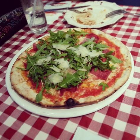 Pizza Bresaola e Ruchetta