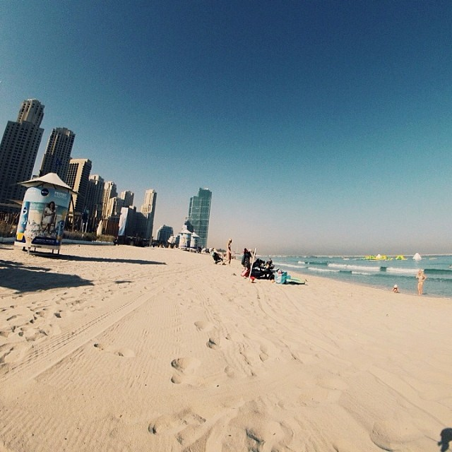 JBR Beach - The Walk