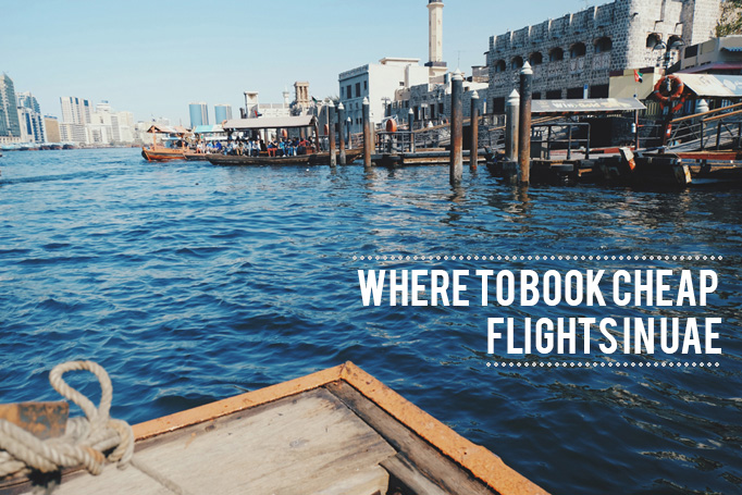 Where to book flights in UAE - Bur Dubai Creek