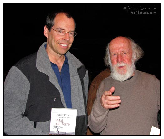 Hubert Reeves et Michel Lamarche