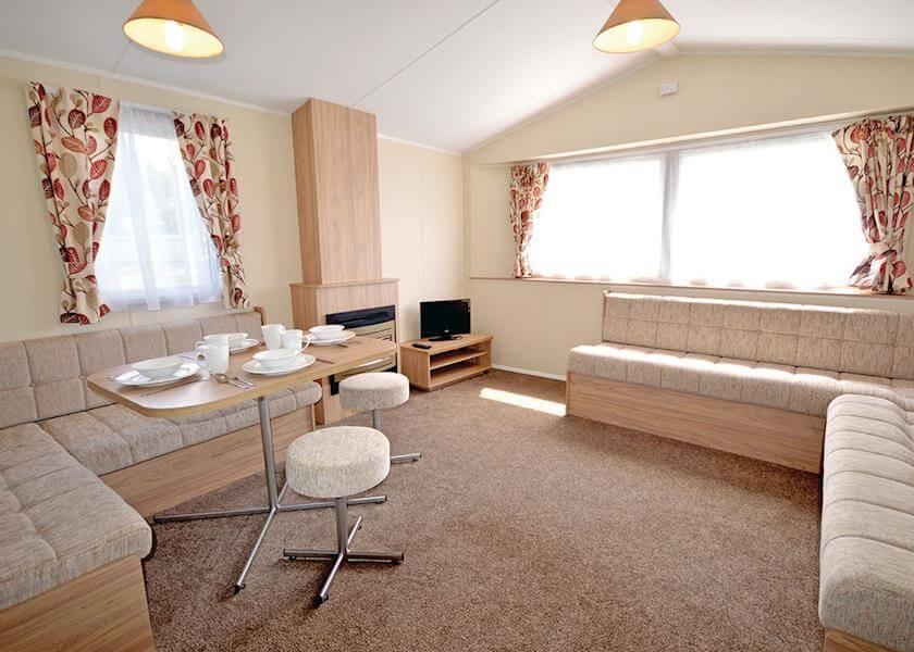 Hemsby Caravan Indoors