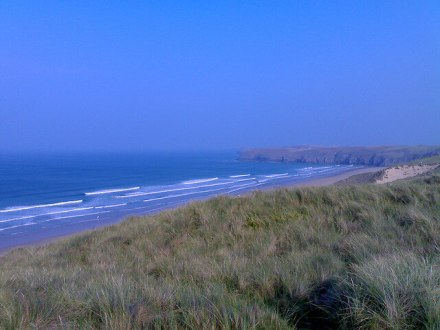 Beach View from Perran Sands