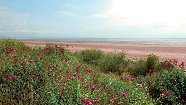 Romney Sands Beach