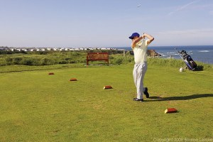 Golf at Berwick - Berwick Holiday Park