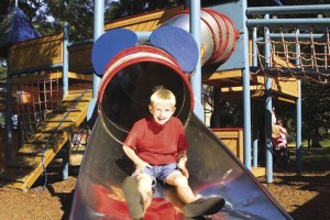 Adventure Playground at Hoburne Blue Anchor - Hoburne Blue Anchor Holiday Park