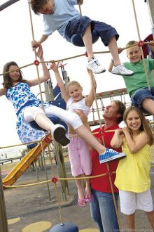 Outdoor Fun Zone at Blue Dolphin - Blue Dolphin Holiday Park