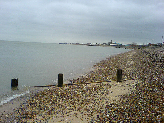 Isle of Sheppey Beach View at Shurland Dale - Shurland Dale Holiday Park