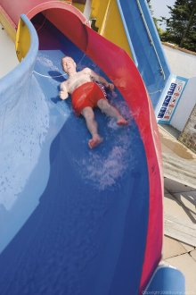 Outdoor Flume at Seaview - Seaview Holiday Park