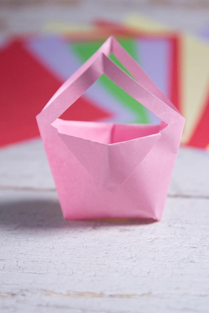 origami paper bag