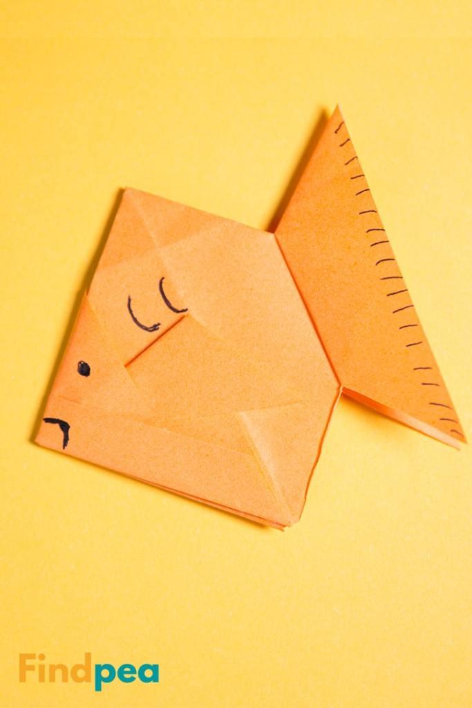 How to make Origami Goldfish