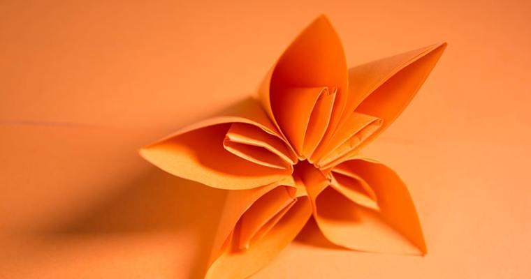 Origami Kusudama Morning Dew
