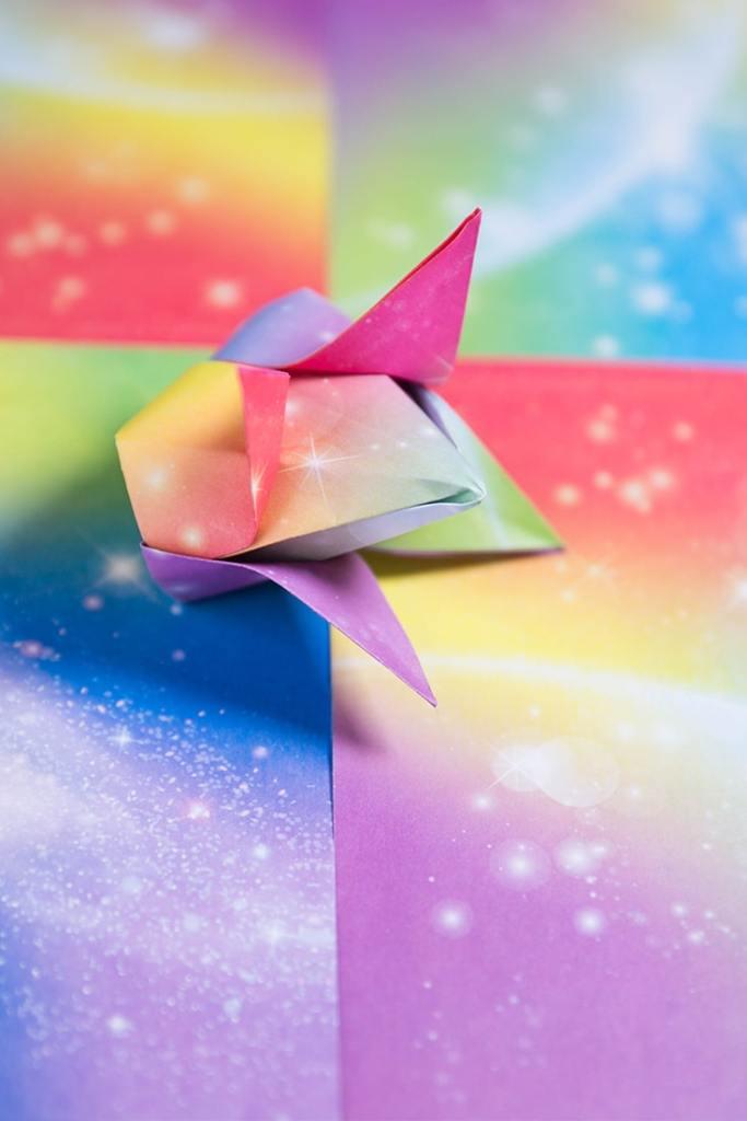 Origami Traditional Tulip