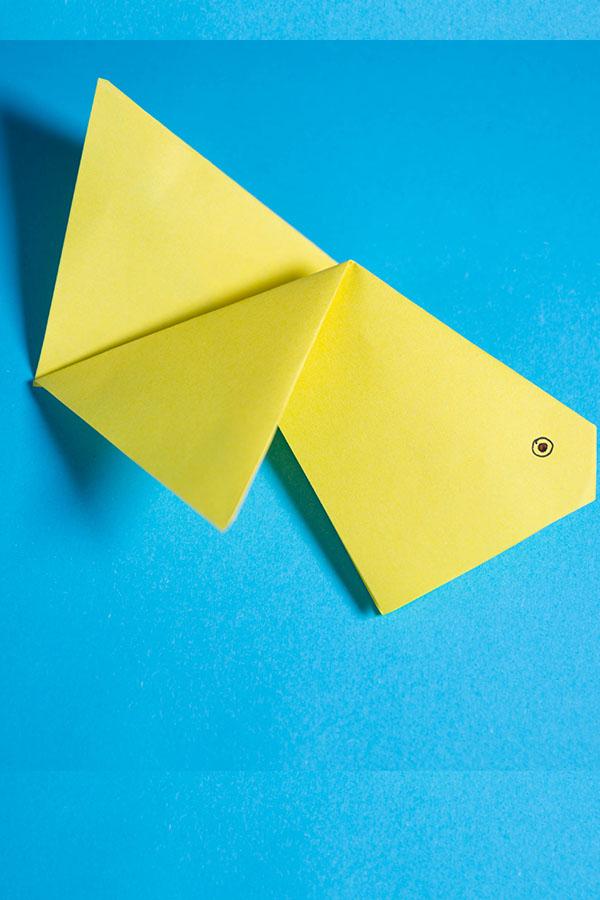 Easy Origami Goldfish