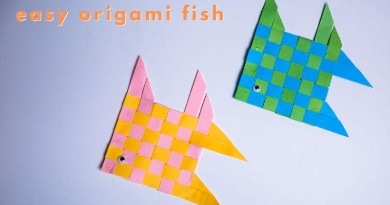 easy origami fish
